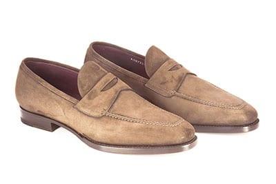 Pantofola in camoscio