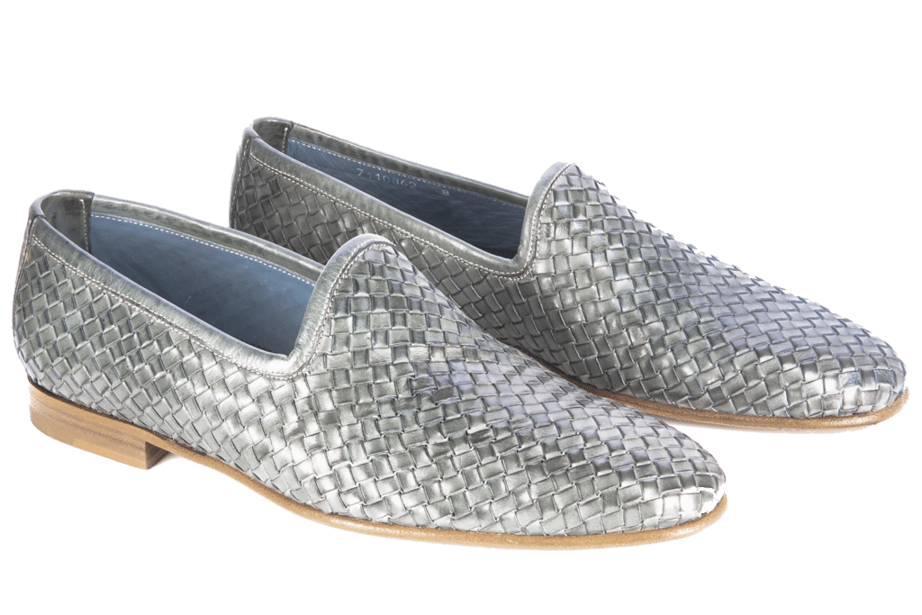 Pantofola intrecciata