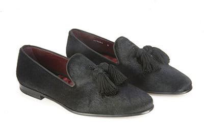 Pony hair loafer